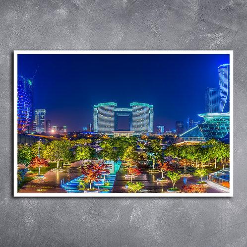 Quadro  Jardim de Hangzhou
