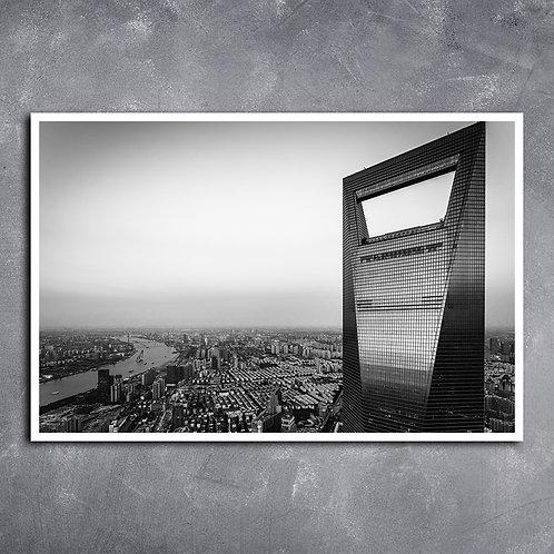 Quadro Arquitetura  Shanghai Centro Financeiroer
