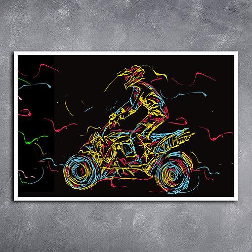 Quadro de Quadriciclo