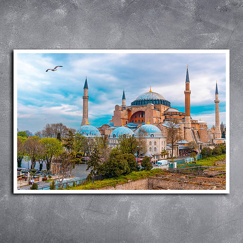 Quadro Mesquita de Santa Sofia Istambul