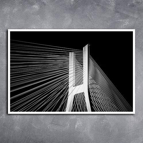 Quadro Arquitetura Ponte Moderna