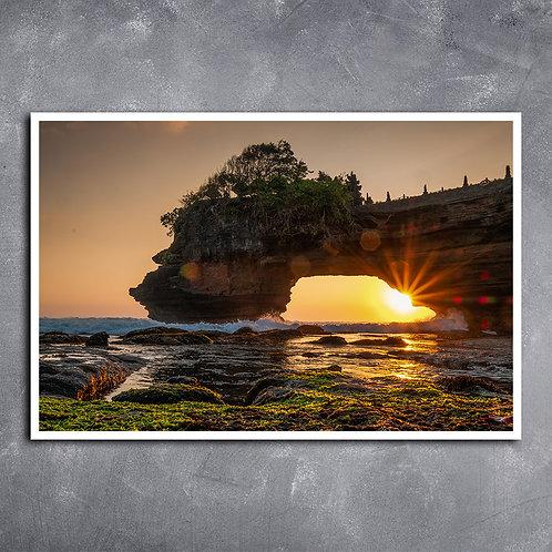 Quadro Bali Ilha na Indonésia