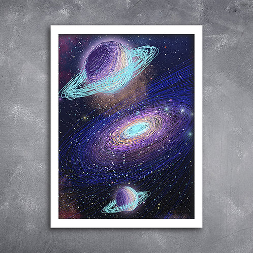 Quadro Via Láctea