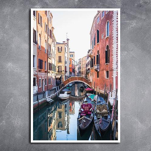 Quadro Ponte em Veneza Itália