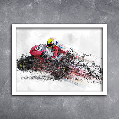 Quadro Moto Speed GP