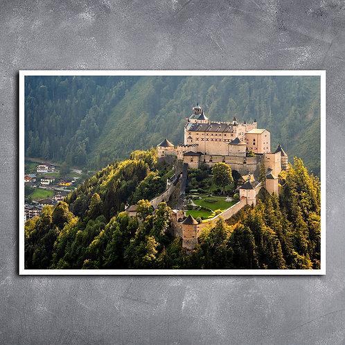 Quadro Castelo Medieval Áustria