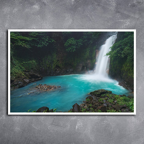 Quadro Cachoeira Rio Celeste Costa Rica