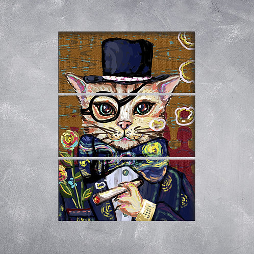 Quadro Gato de Cartola