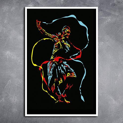 Quadro Dança Flamenca