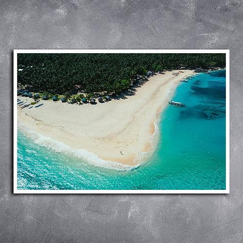 Quadro Siargao  Ilha das Filipinas