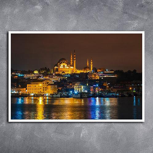 Quadro Mesquita Süleymaniye, Turquia