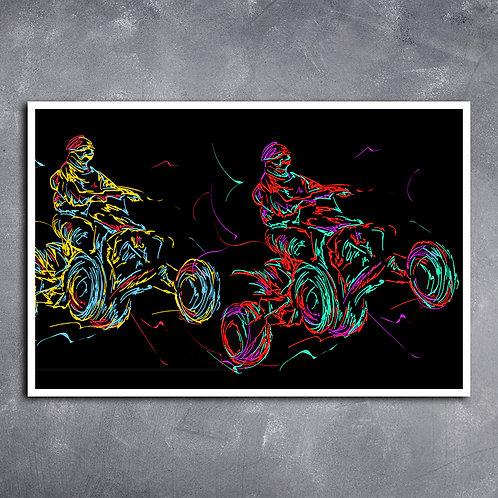 Quadro Pilotos de Quadriciclos