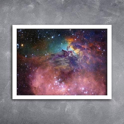 Quadro Galáxia Científica By Nasa