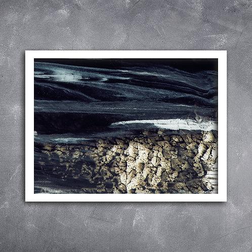 Quadro Textura Acrílica Dark