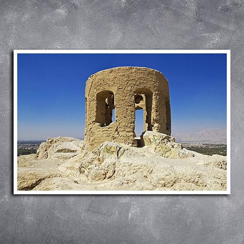 Quadro Templo do Fogo  Zoroastrian