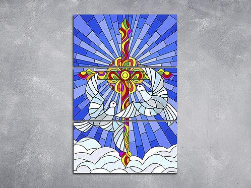 Quadro Trindade Santíssima