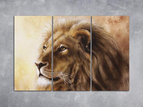 Quadro Leão da Tribo de Judá