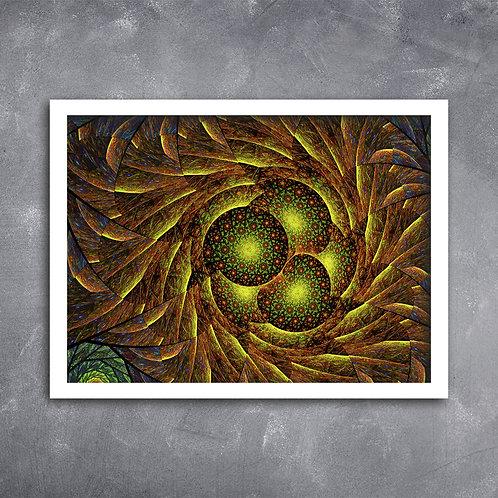 Quadro Cosmos Ambar