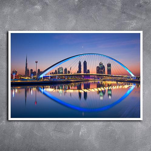 Quadro Canal de Dubai