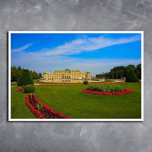 Quadro do Palácio Versalhes Áustria