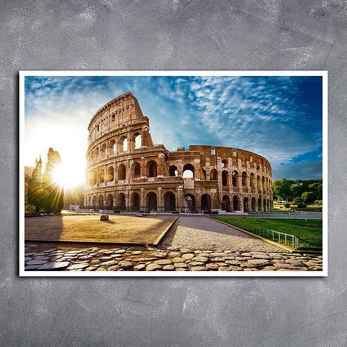 Quadro Coliseu De Roma Itália