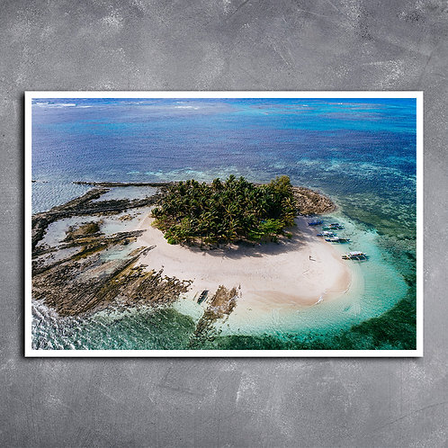 Quadro Ilha Guyam Filipinas