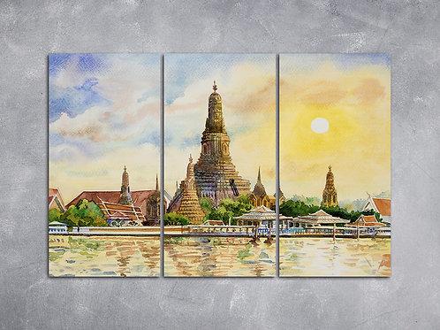 Quadro Templo Tailandês