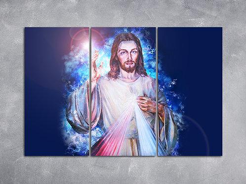 Quadro Jesus Cristo Luz do Mundo