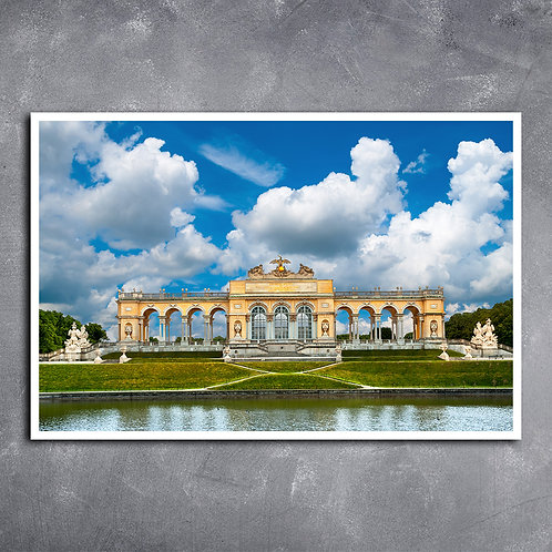 Quadro Palácio Viena Áustria