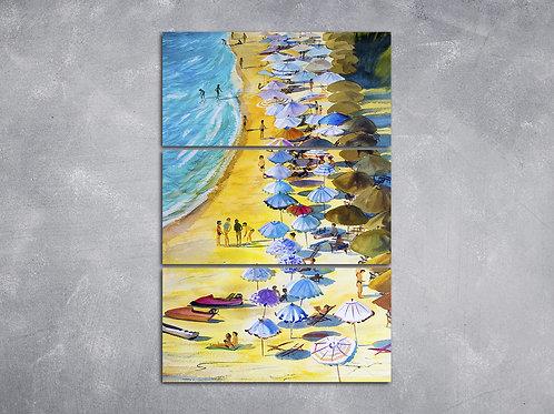Quadro Orla da Praia