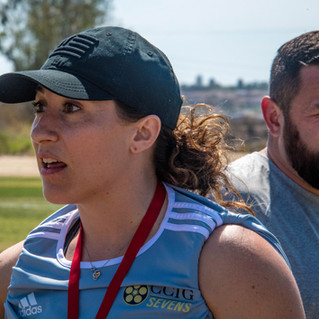 Women for Rugby Founder, Morgan Roberts