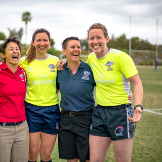 Laughing Officials