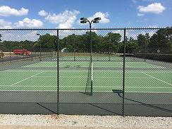 tennis court construction upstate sc