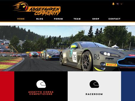 Webseite in neuem Glanz