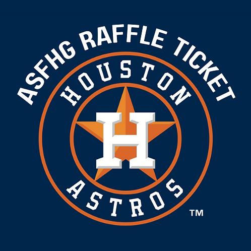 Astros Suite Raffle Ticket