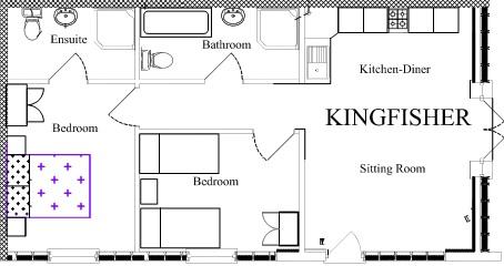 Kingfisher floor plan