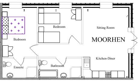 Moorhen floor plan