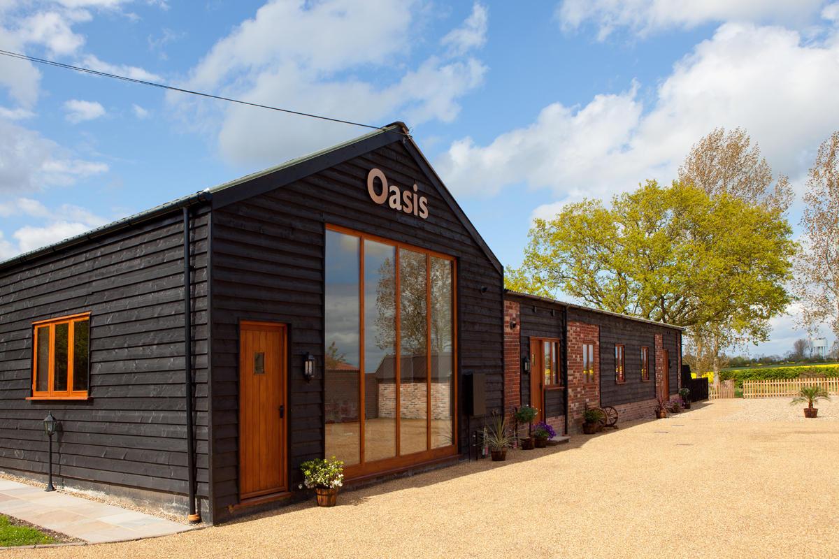 Wonderful Oasis Barn