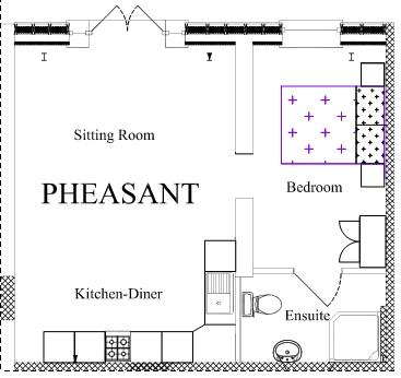 Pheasant floor plan