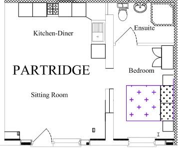 Partridge floor plan