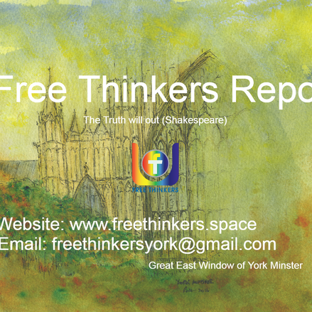 Announcing Free Thinkers Report & London branch
