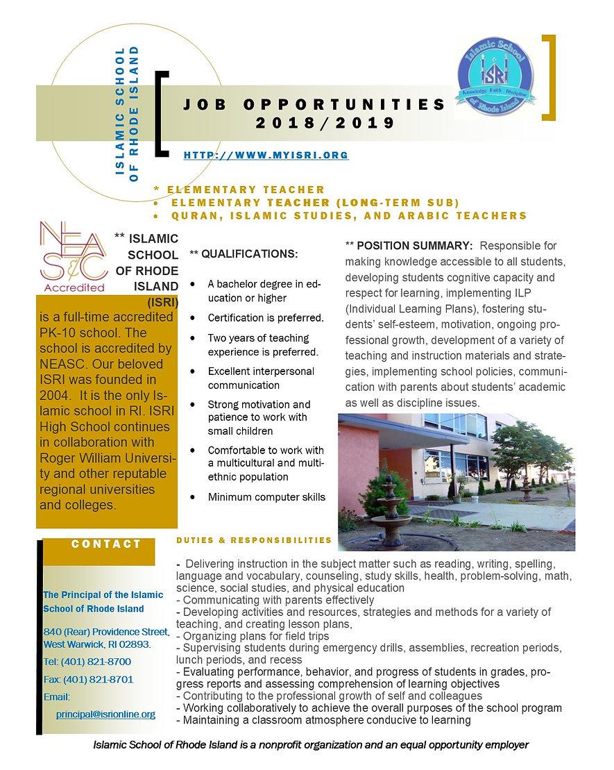 ISRI Job Ad Feb 19.jpg