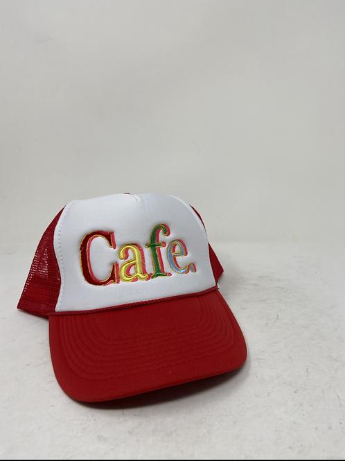 CAFE - Essential Trucker Hat - RED