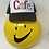 Thumbnail: CAFE - Essential Trucker Hat - White/ Brown