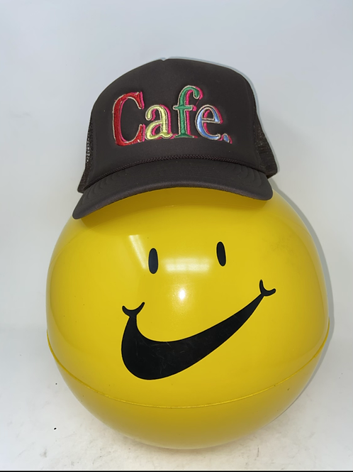 CAFE - Essential Trucker Hat - All Brown