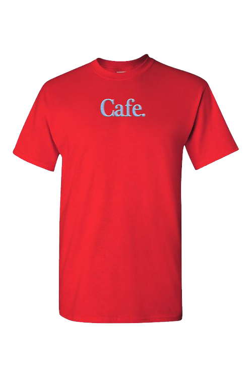 CAFE - Essential Logo Tee - Red