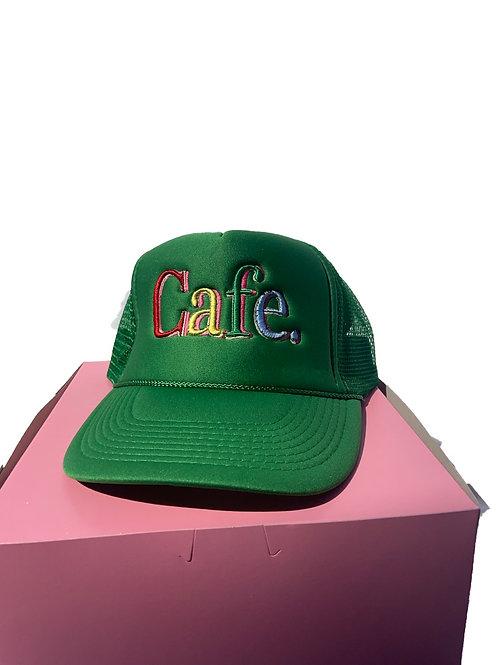 CAFE -S2 Trucker Hat- Kelly Green