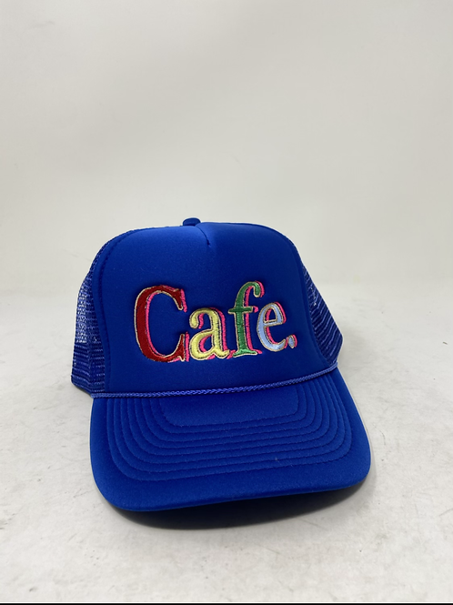 CAFE - Essential Trucker Hat - LA BLUE LIMITED EDITION