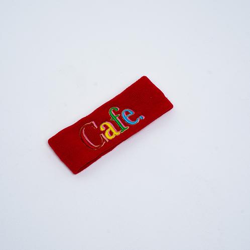 CAFE -S2 Headband- Red
