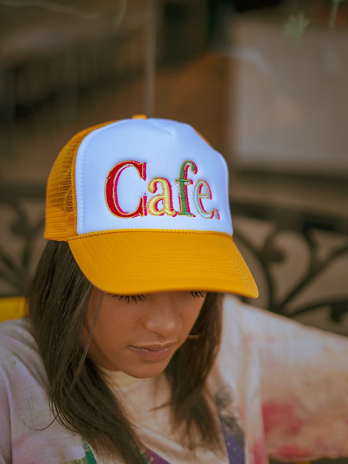 CAFE - Essential Trucker Hat - Yellow
